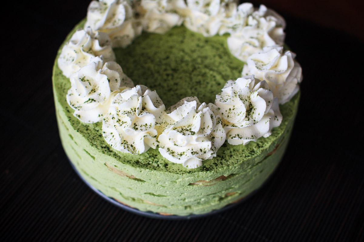 Matcha No-Bake Icebox Cake Recipe