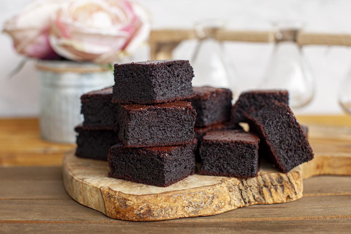 Dark Chocolate Mochi Brownie Recipe