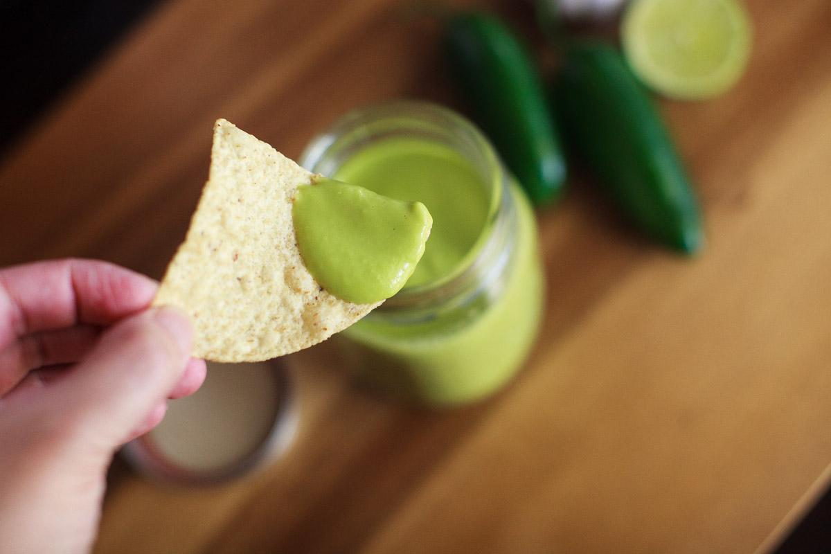Instant Pot Spicy Green Taco Truck Salsa