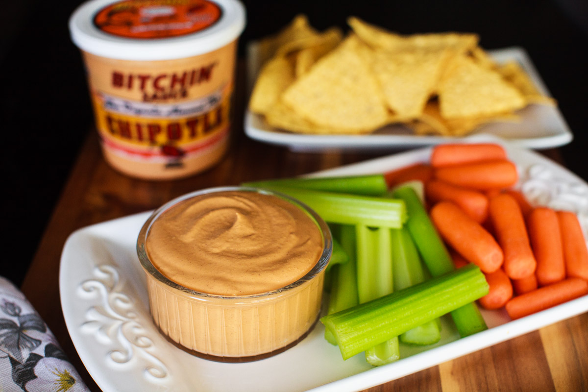 Chipotle Bitchin' Sauce Recipe - Vegan Almond Dip