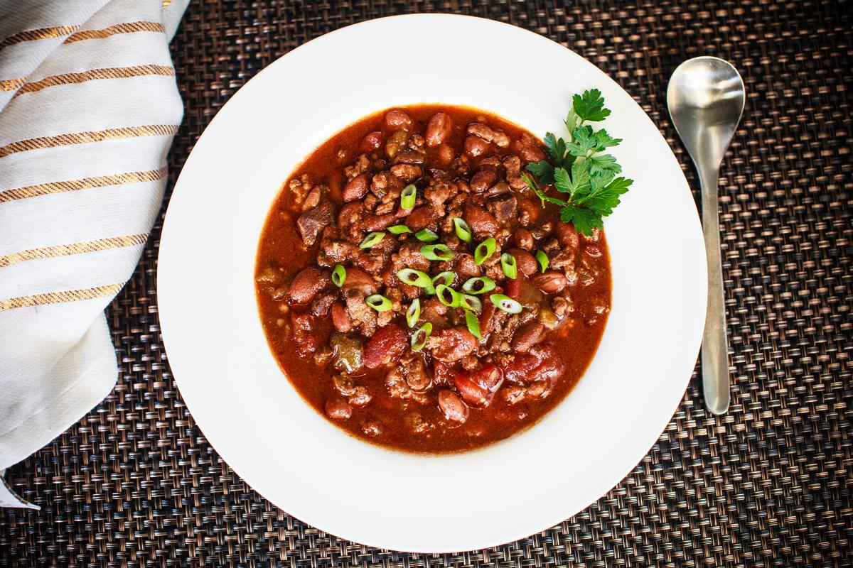 Instant Pot Chasen's Famous Chili Recipe - THE BEST CHILI