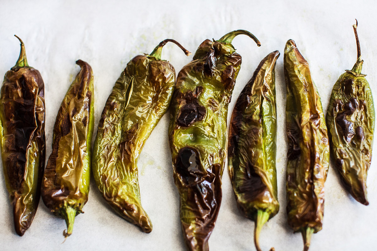 Oven Roasted Hatch Green Chiles Recipe