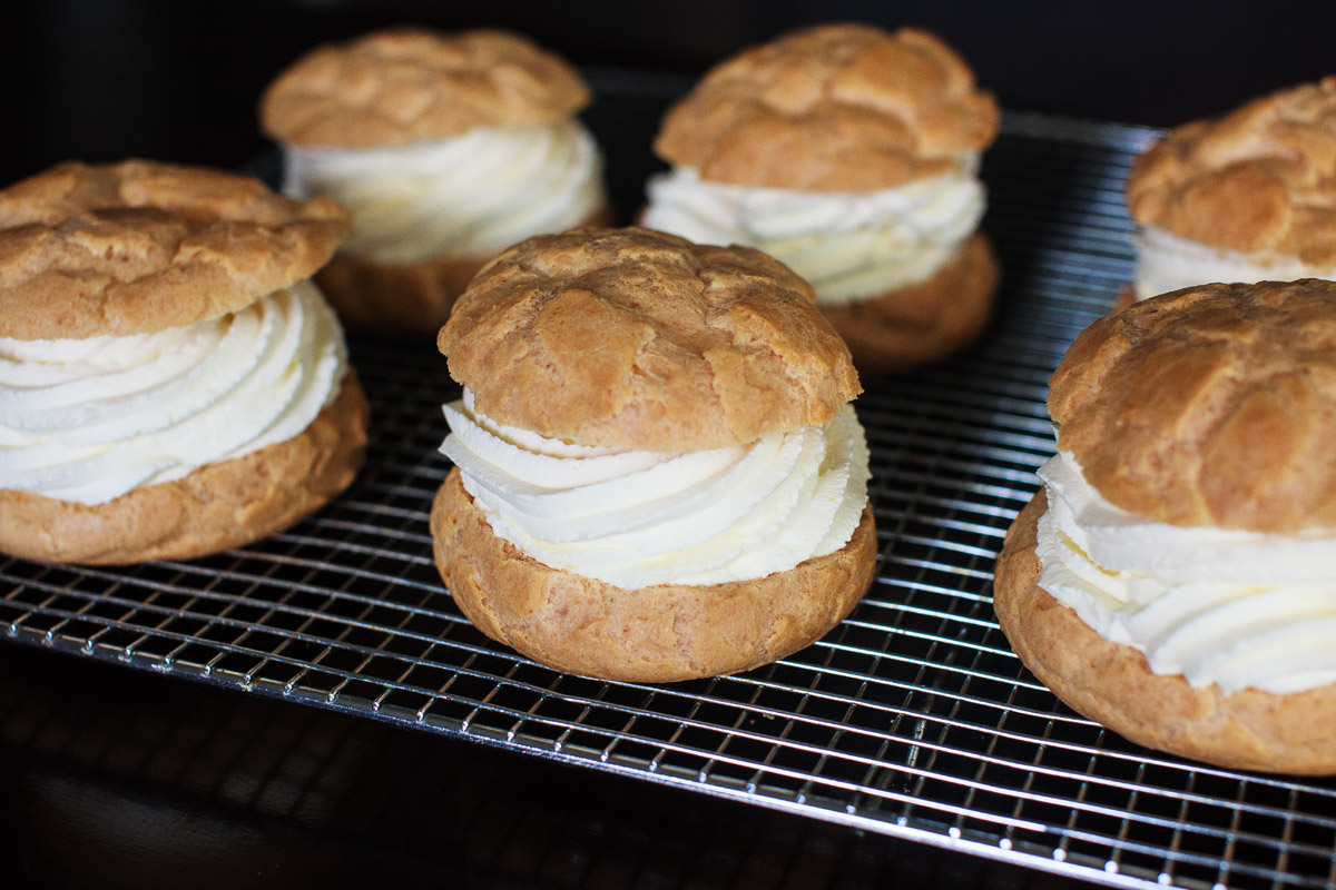 GIANT State Fair Cream Puffs Recipe