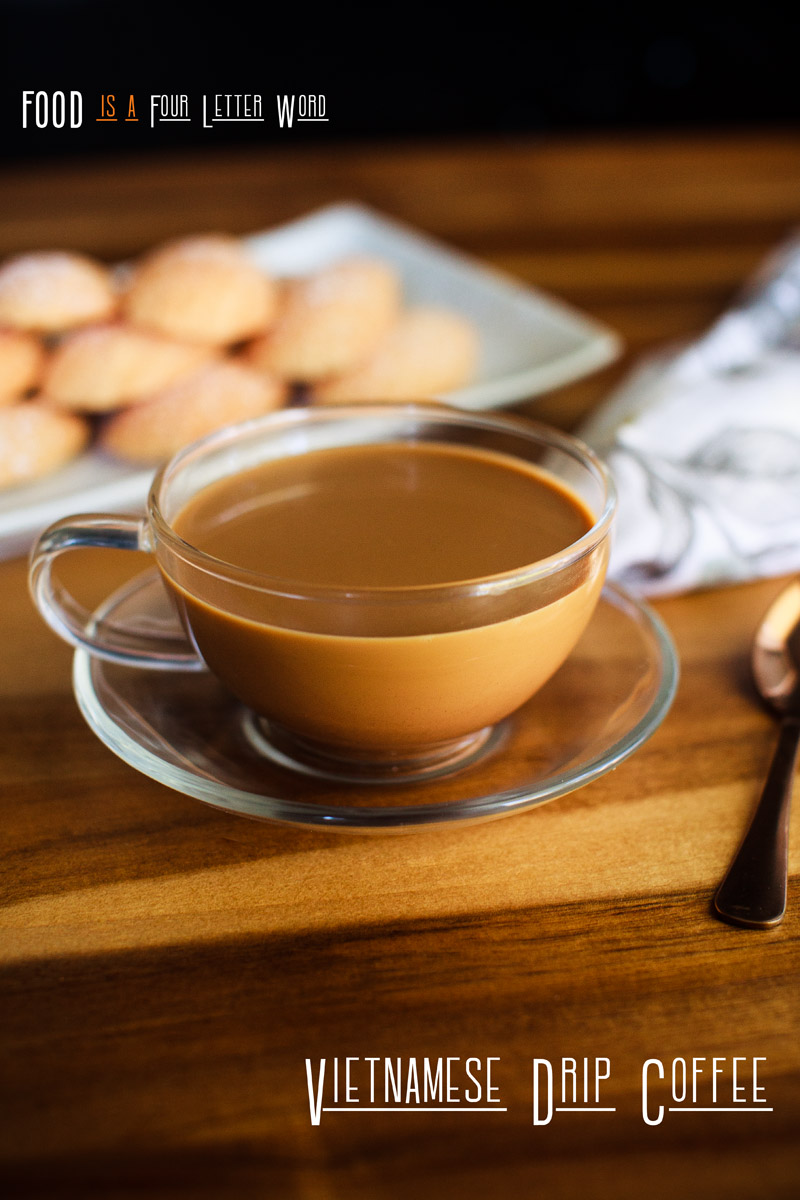 Vietnamese Drip Coffee Recipe (cà phê sữa nóng)