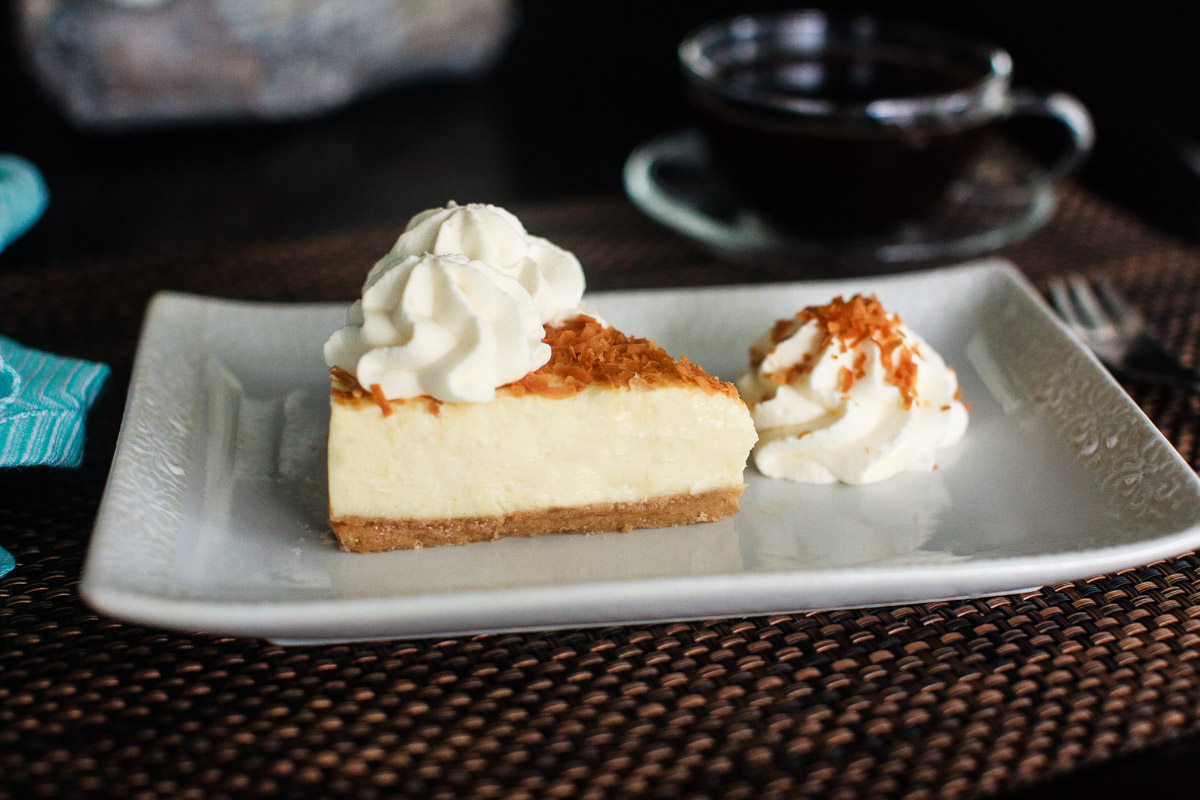 Instant Pot Coconut Cheesecake Recipe