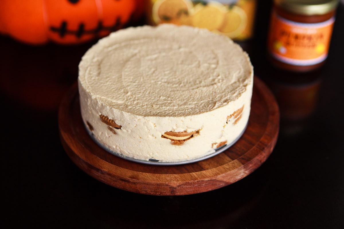 Trader Joe's Pumpkin Joe-Joe's IceBox Cake Recipe (No-Bake)
