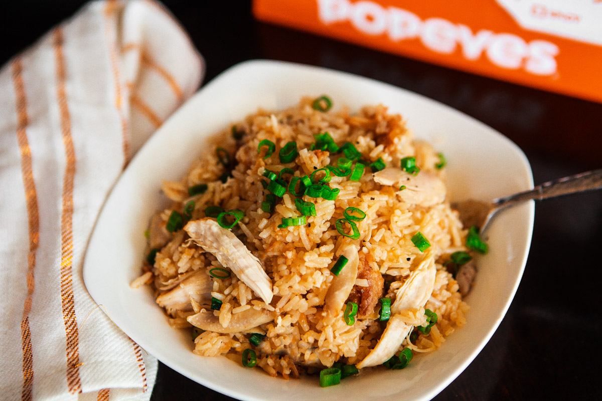 "Instant Pot ""KFC"" Fried Chicken Japanese Rice Cooker Recipe Hack using Popeye's Chicken"