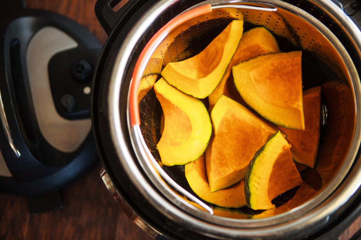 Instant Pot Steamed Kabocha Recipe