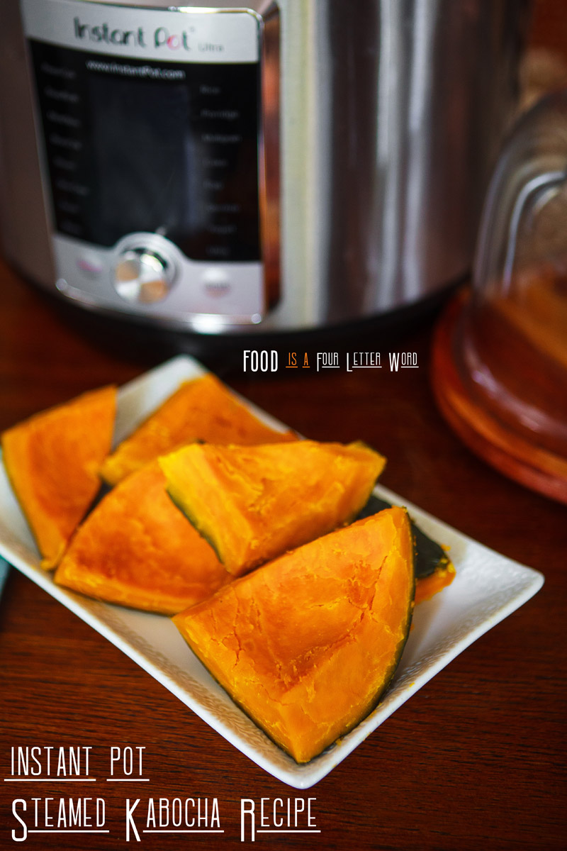 Instant Pot Steamed Kabocha Recipe