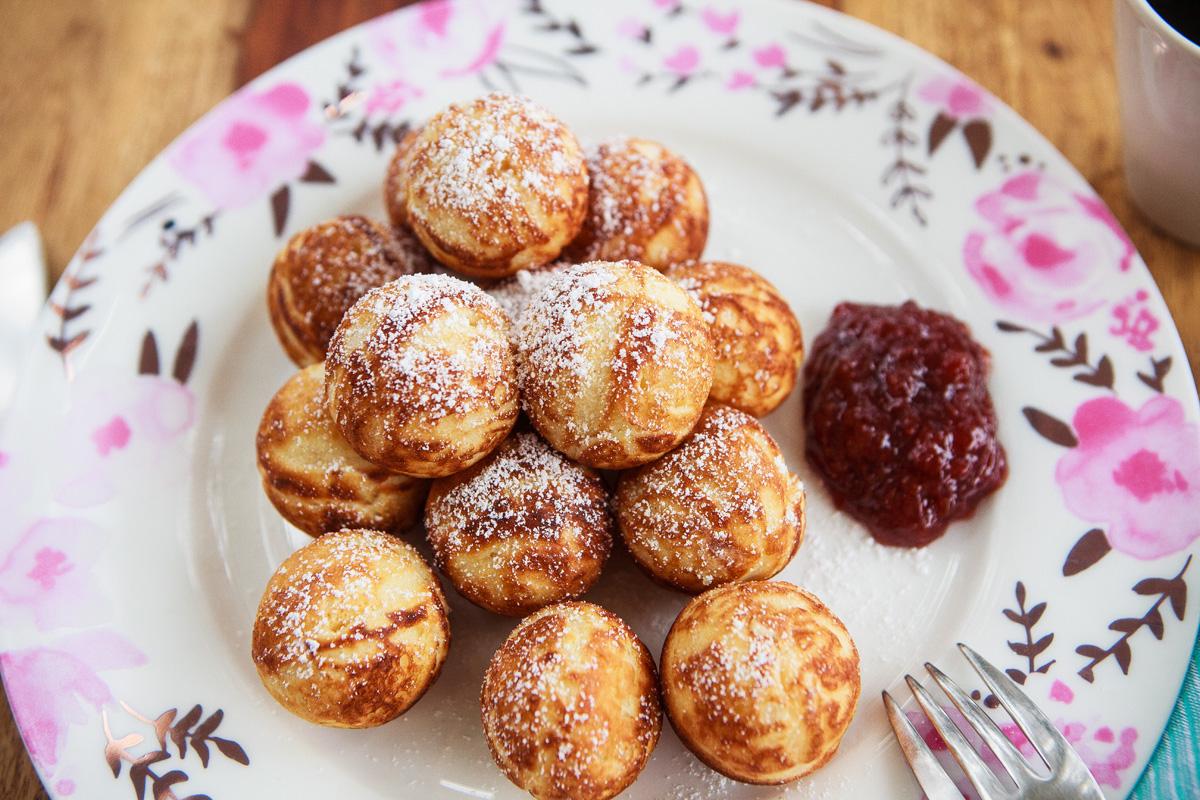 Aebleskiver Recipe - Round Danish Pancakes