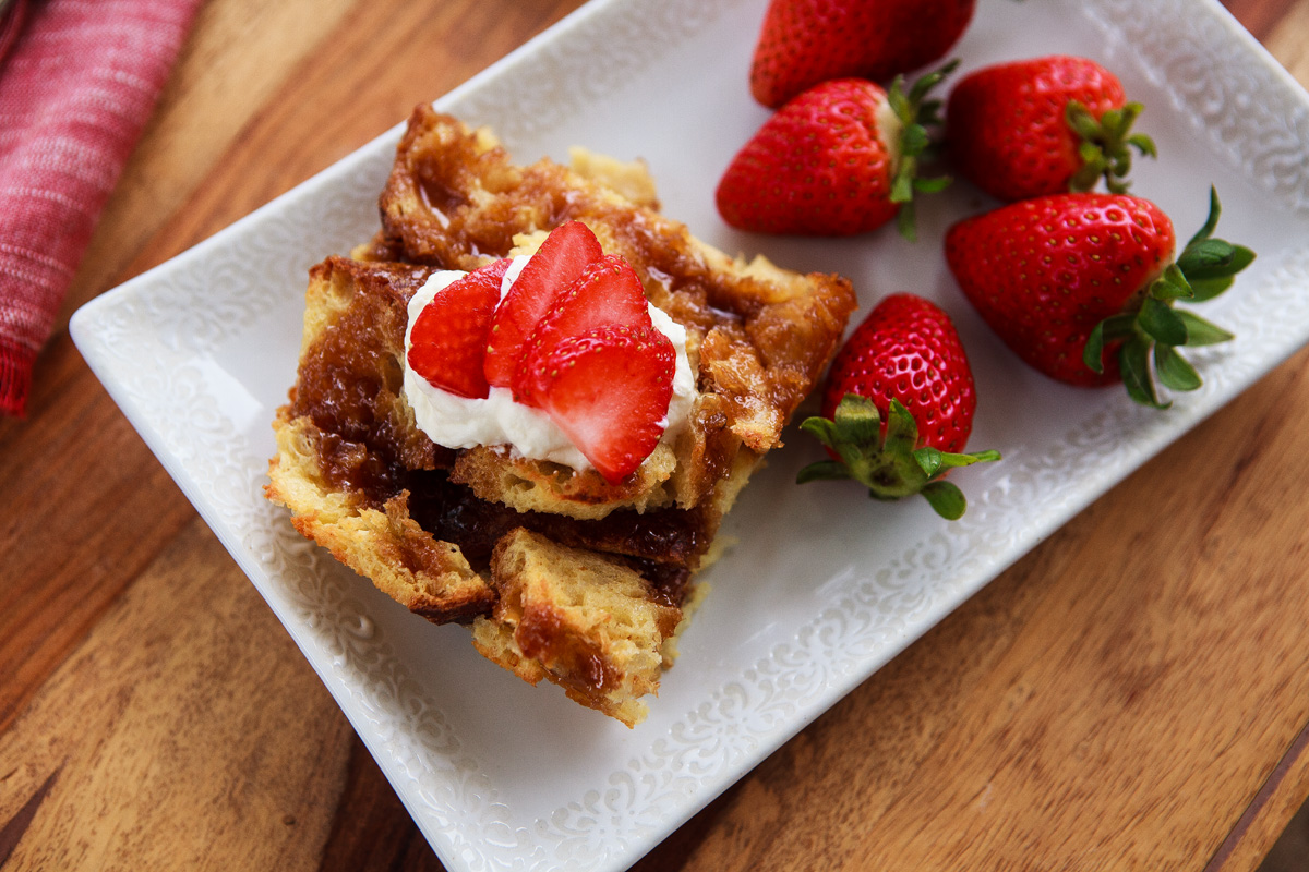EASY Butterscotch French Toast Casserole Recipe