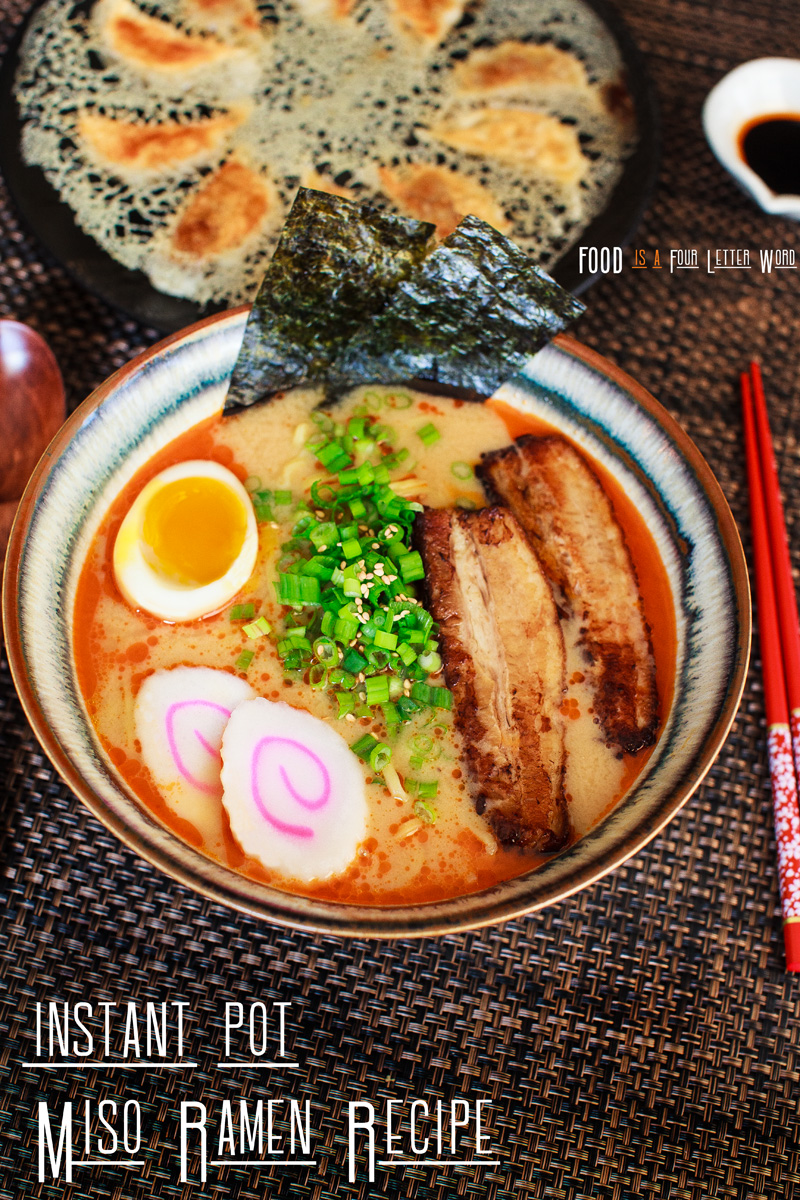 Instant Pot Miso Ramen Recipe