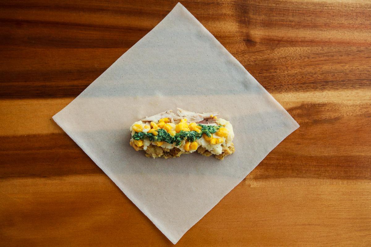 Thanksgiving Leftovers Crispy Egg Rolls Recipe