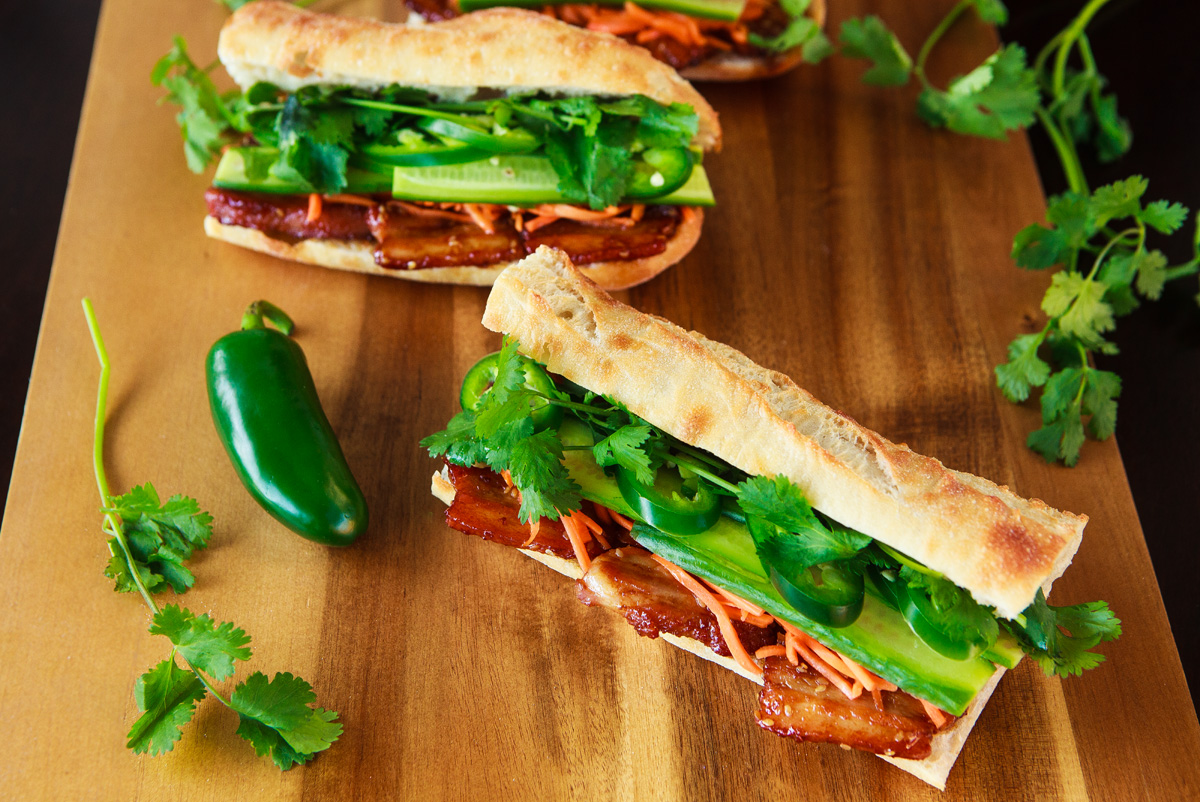 Trader Joe's Pork Belly Banh Mi Recipe Hack
