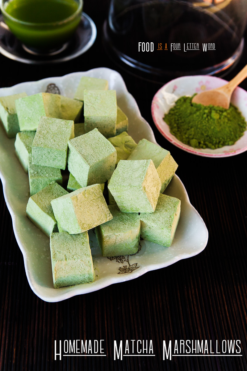 Homemade Matcha Marshmallows Recipe