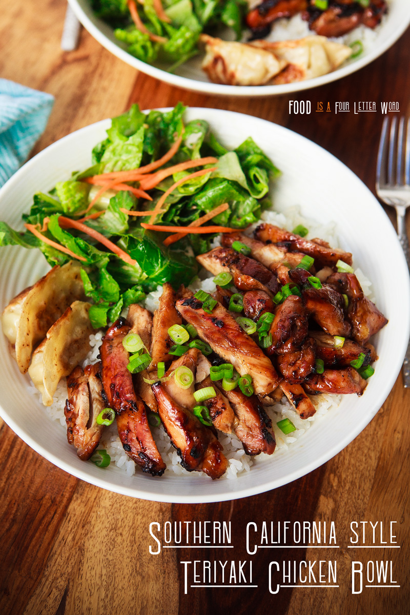 Southern California-Style Teriyaki Chicken Bowl Recipe