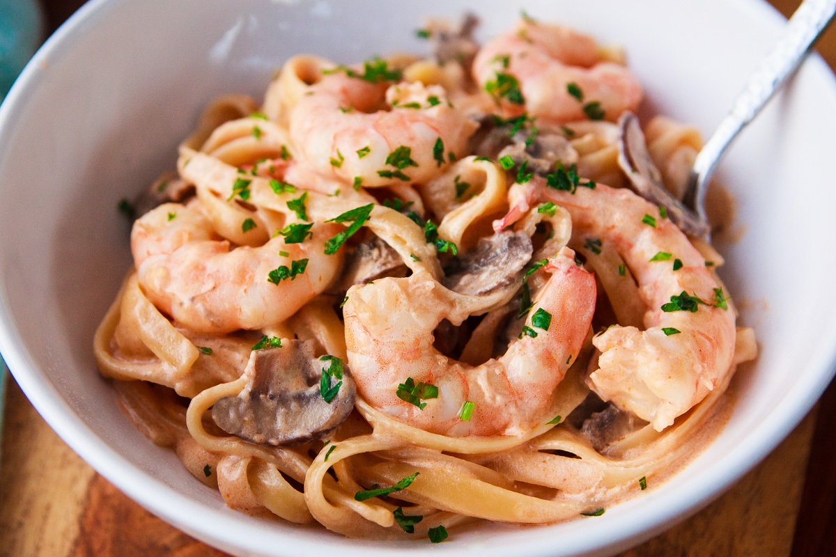Toowoomba Pasta Recipe from Outback Steakhouse (Spicy Shrimp Fettuccine Alfredo)