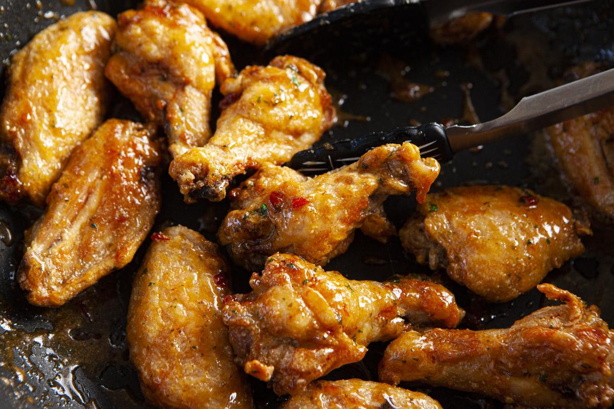 Air Fryer Vietnamese Chấm Fish Sauce Wings Recipe