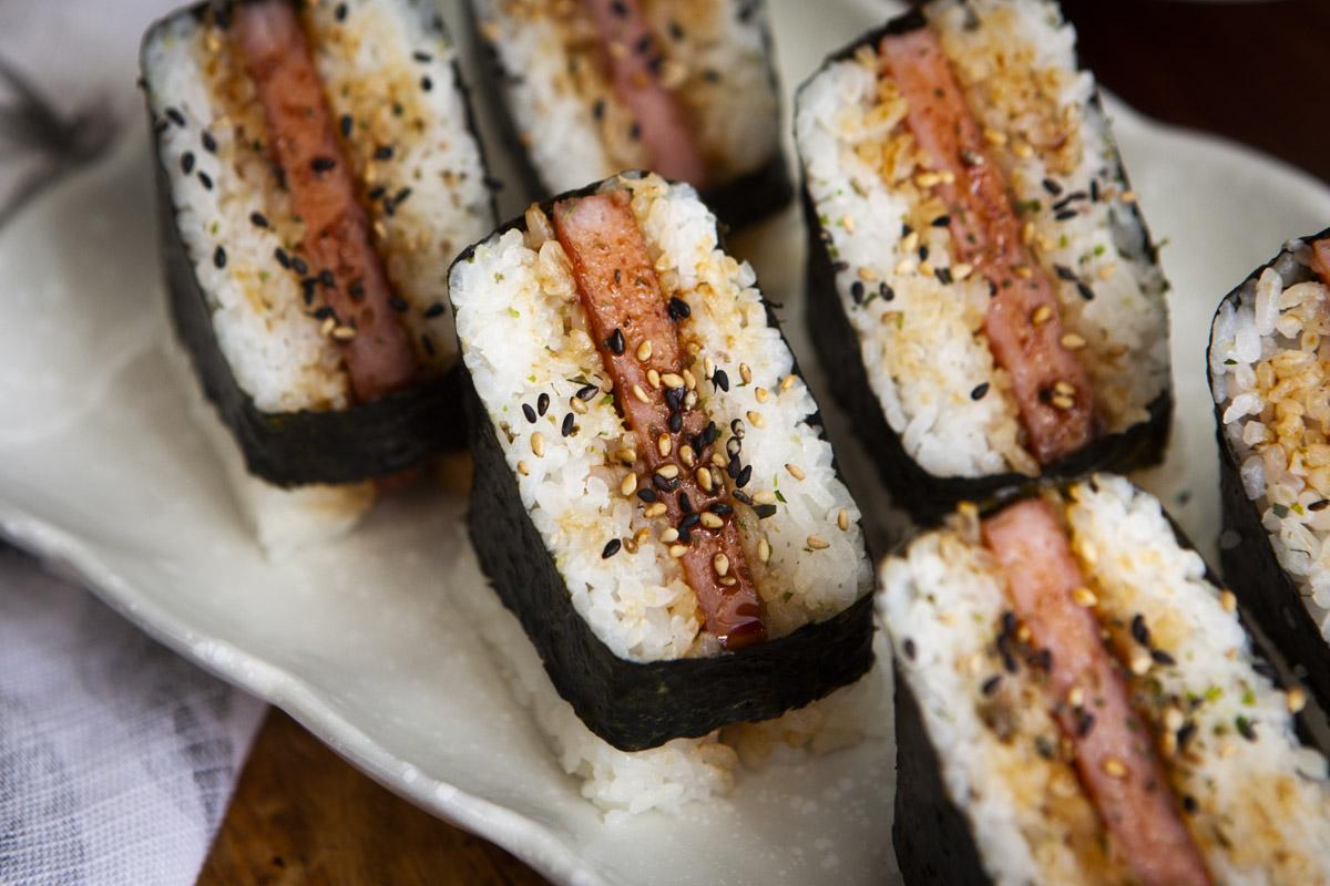 Teriyaki Spam Musubi Recipe