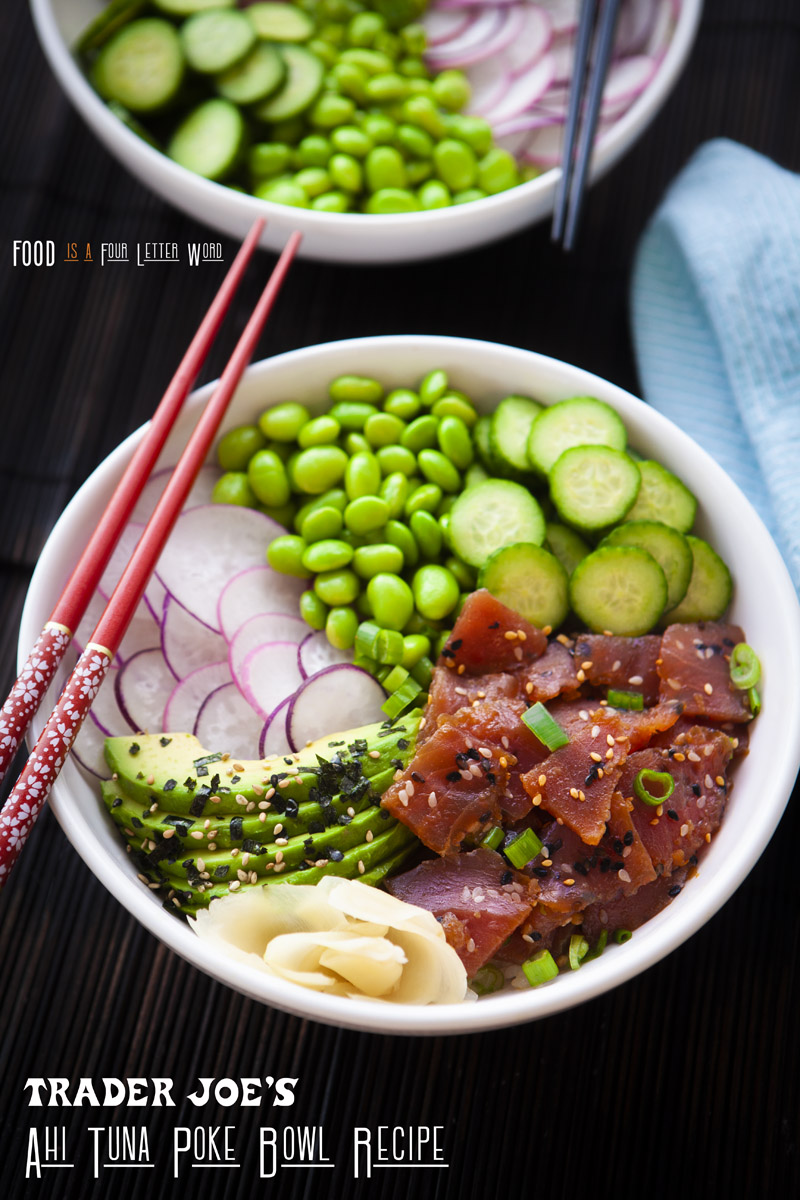 Trader Joe's Ahi Tuna Poke Bowl Recipe