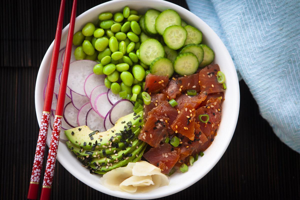 Trader Joe's Ahi Tuna Poke Bowl Recipe