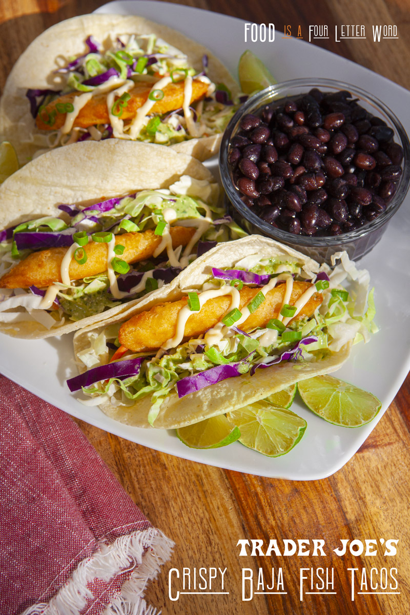 Trader Joe's Crispy Baja Fish Tacos Recipe Idea