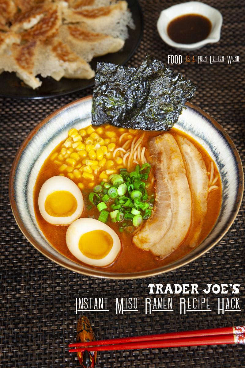 Trader Joe's Instant Miso Ramen Recipe Hack