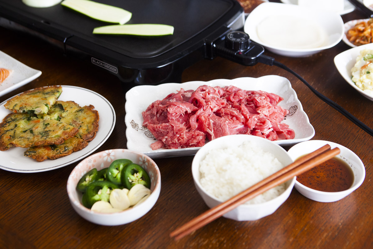 How to have Korean BBQ at Home with Trader Joe's Products