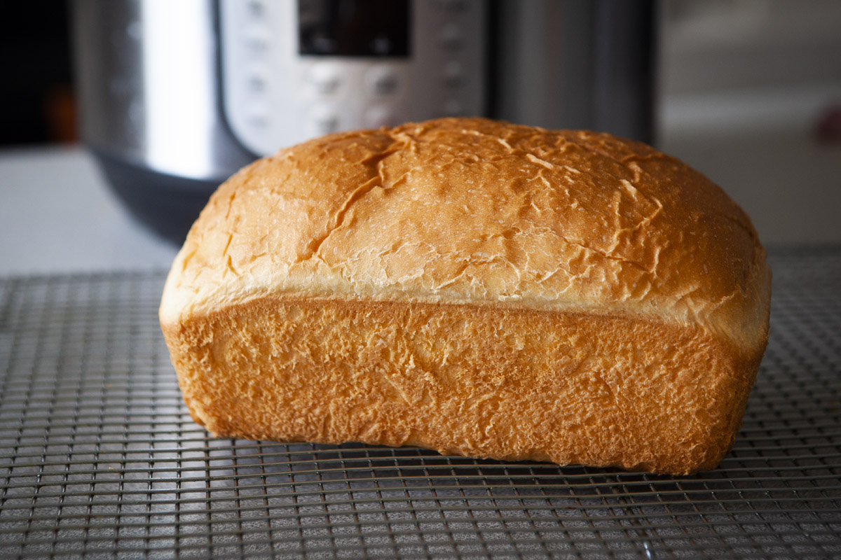 Instant Pot Classic Sandwich Bread Recipe