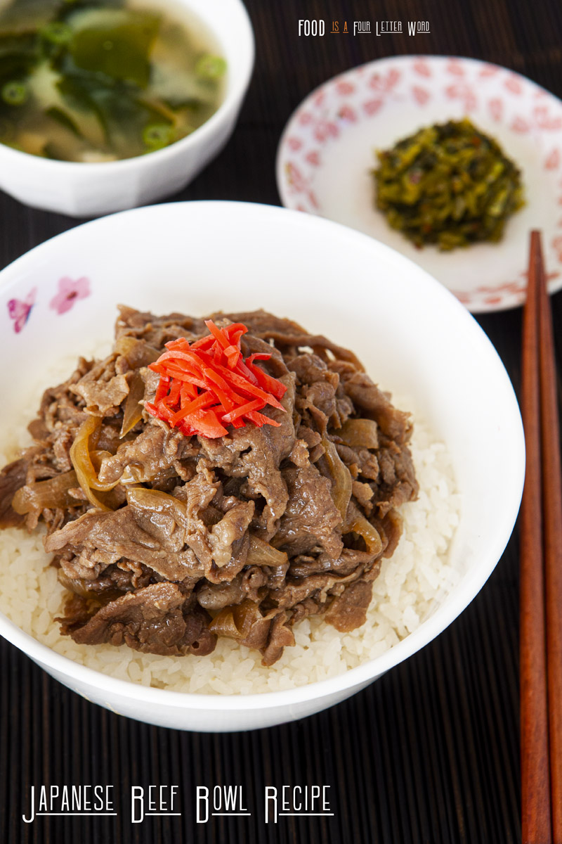 Japanese Beef Bowl - Gyudon Recipe (Better than Yoshinoya!)
