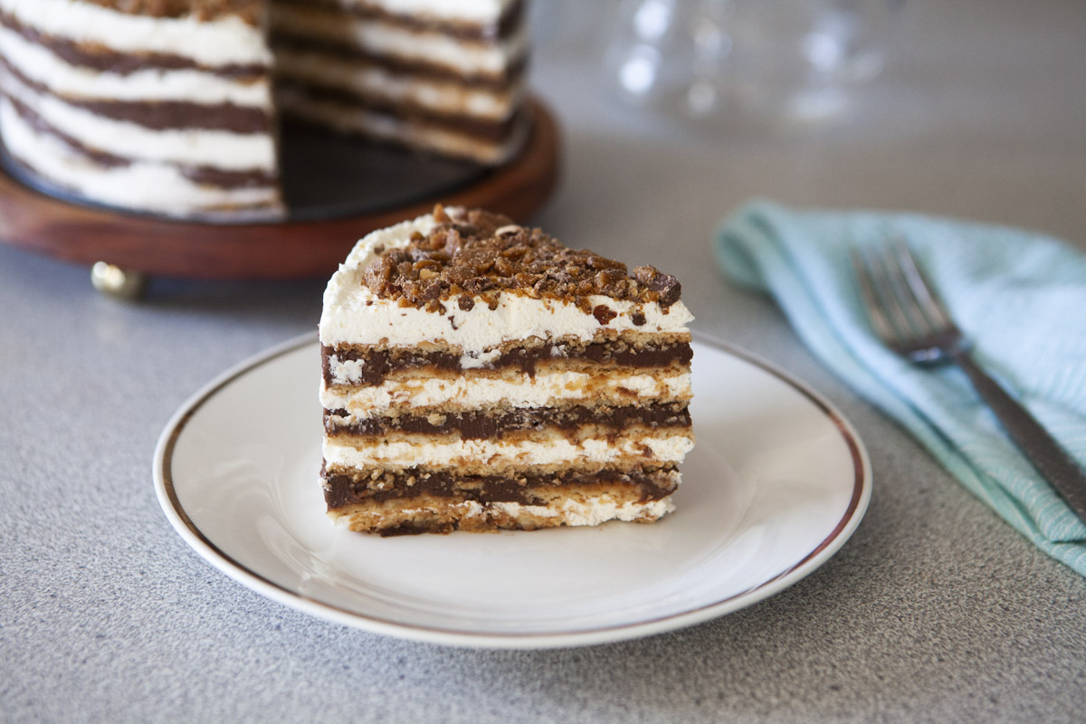Trader Joe's No-Bake Belgian Chocolate Icebox Cake