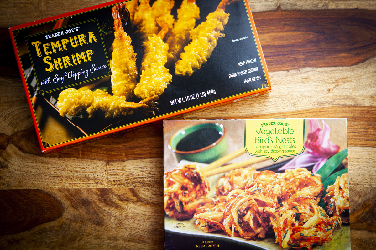 Trader Joe's Tempura Rice Bowl Recipe (Tendon)