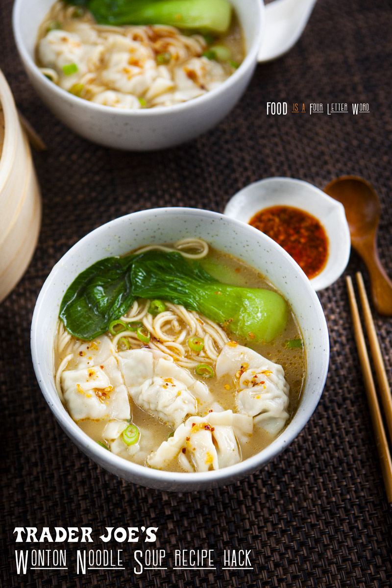 Trader Joe's Wonton Noodle Soup Recipe Hack