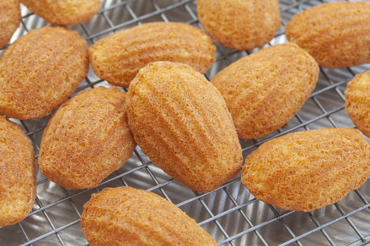 How to make Madeleines with Trader Joe's Vanilla Cake Mix