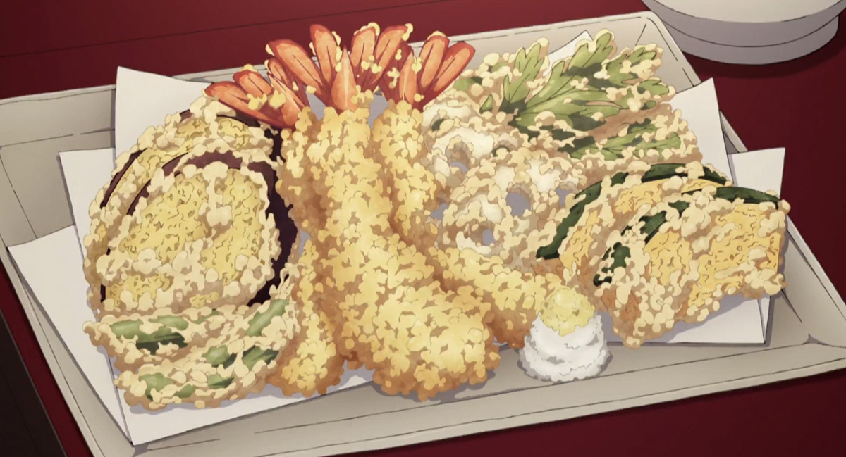 Demon Slayer Tempura - The House with the Wisteria Family Crest