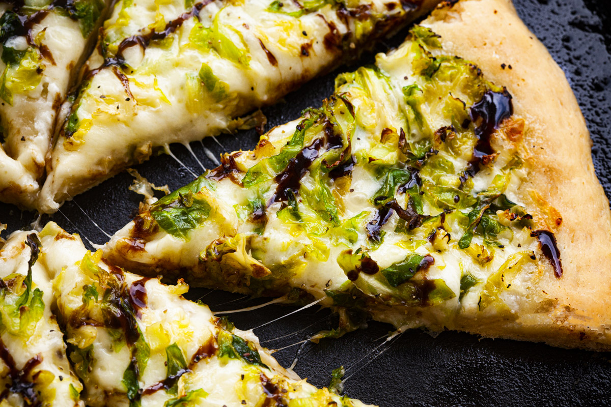 Trader Joe's Brussels Sprout Pizza Recipe