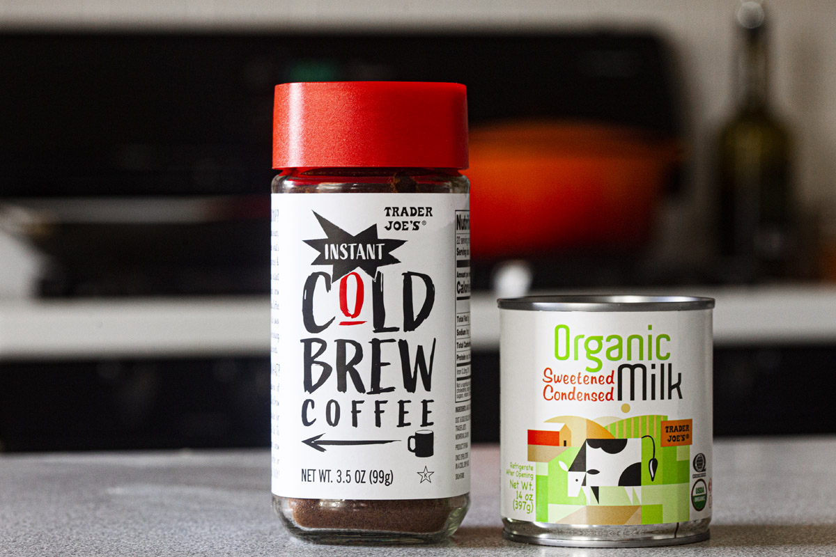 Vietnamese Iced Coffee Hack Recipe using Trader Joe's Instant Cold Brew Coffee