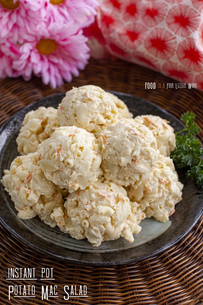 Instant Pot Potato Mac Salad Reipe