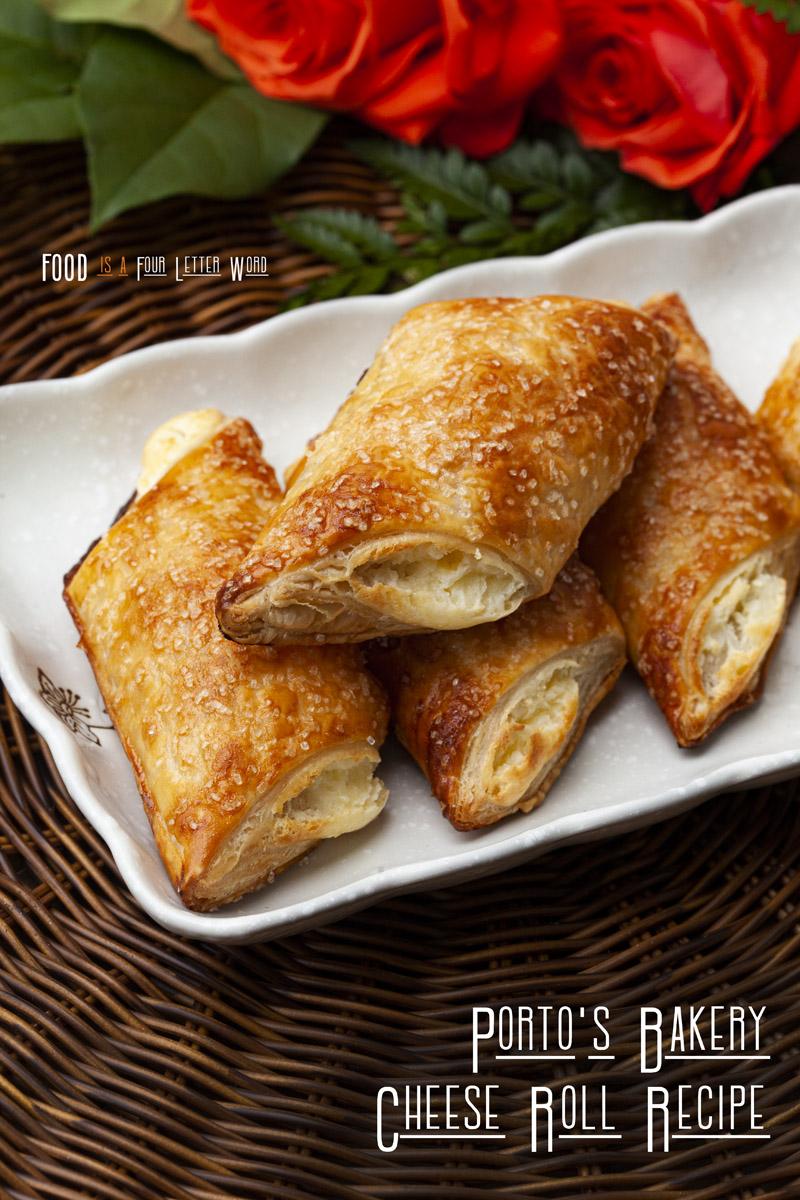 Porto's Bakery Cheese Roll Recipe