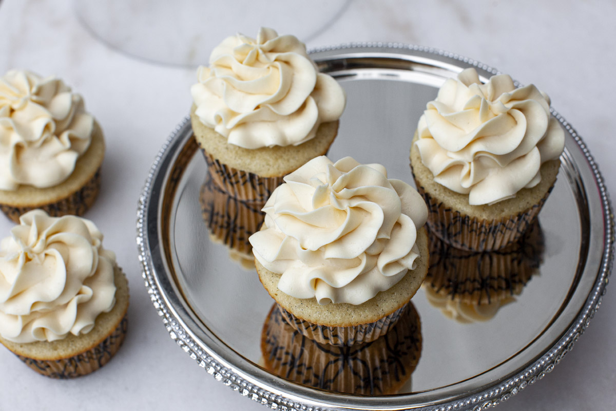 EASY Russian Buttercream Recipe (Sweetened Condensed Milk Frosting)