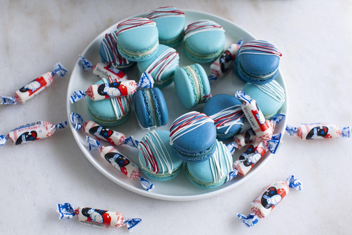 White Rabbit Candy Macaron Recipe
