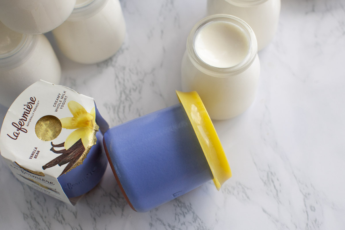 Instant Pot French-Style Yogurt Recipe (Copycat of La Fermière Yogurt)