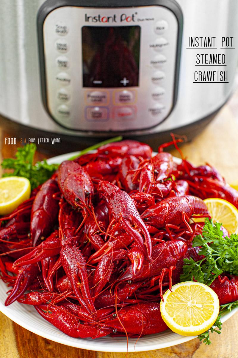 Instant Pot Steamed Crawfish Recipe
