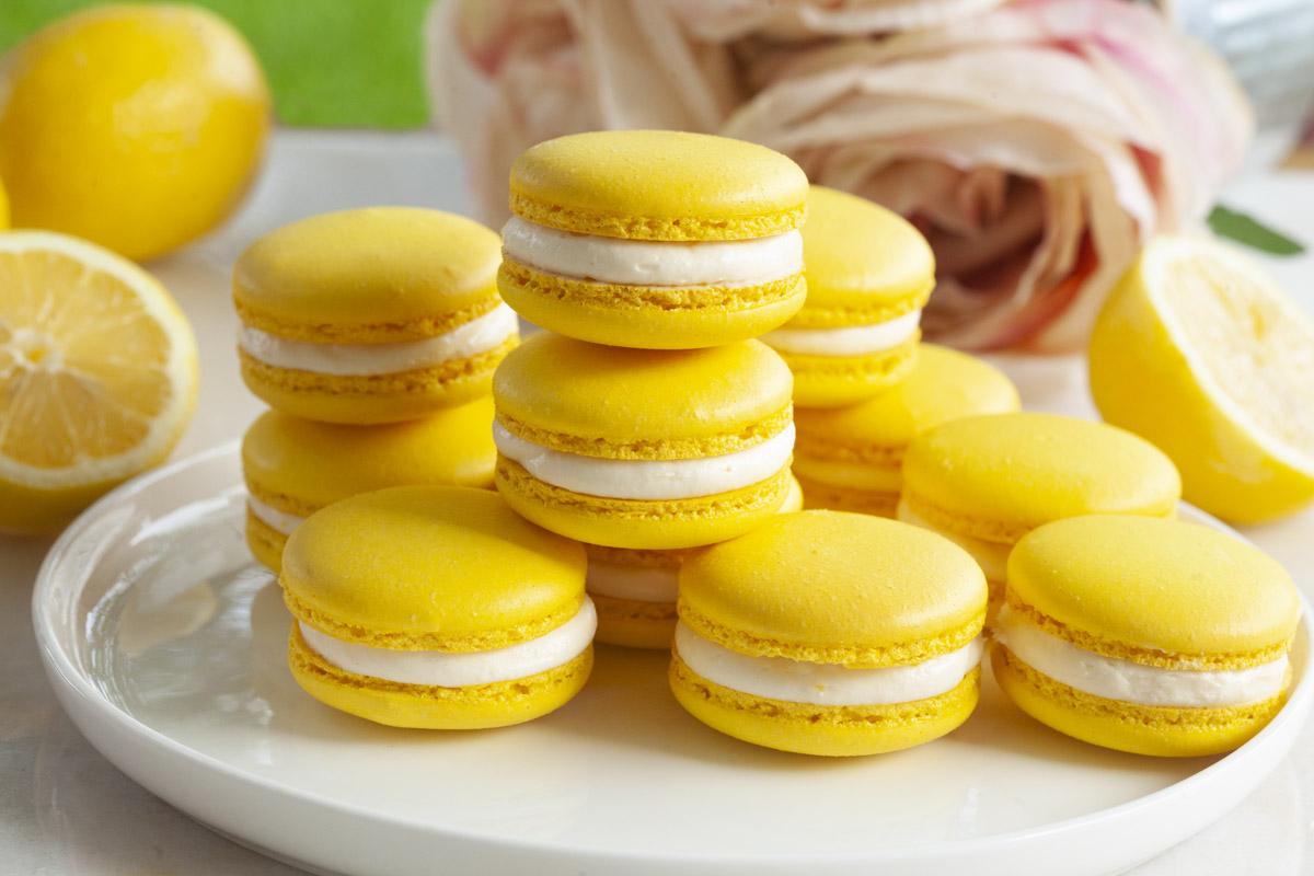 Lemon Cheesecake Macaron Recipe