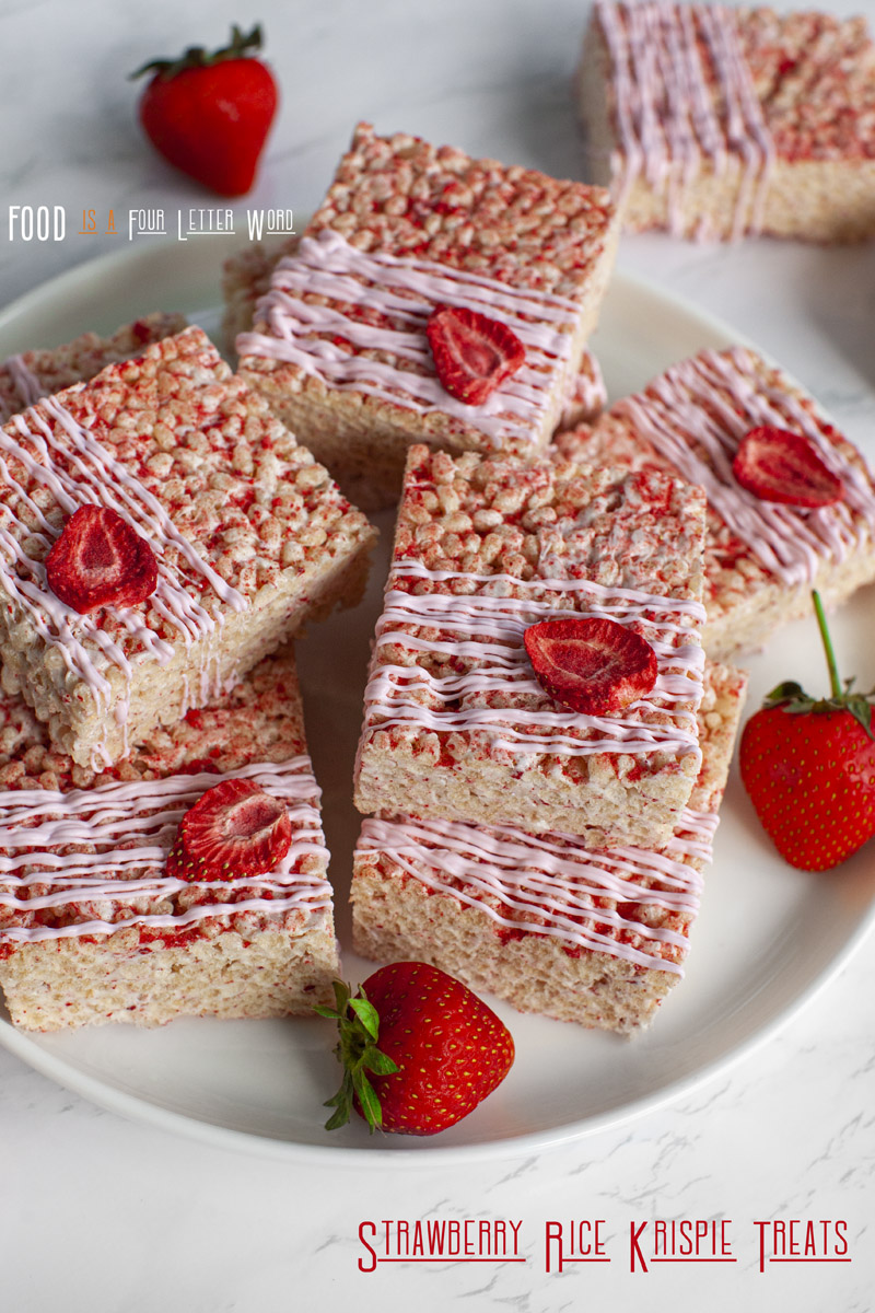 Strawberry Rice Krispie Treats Recipe