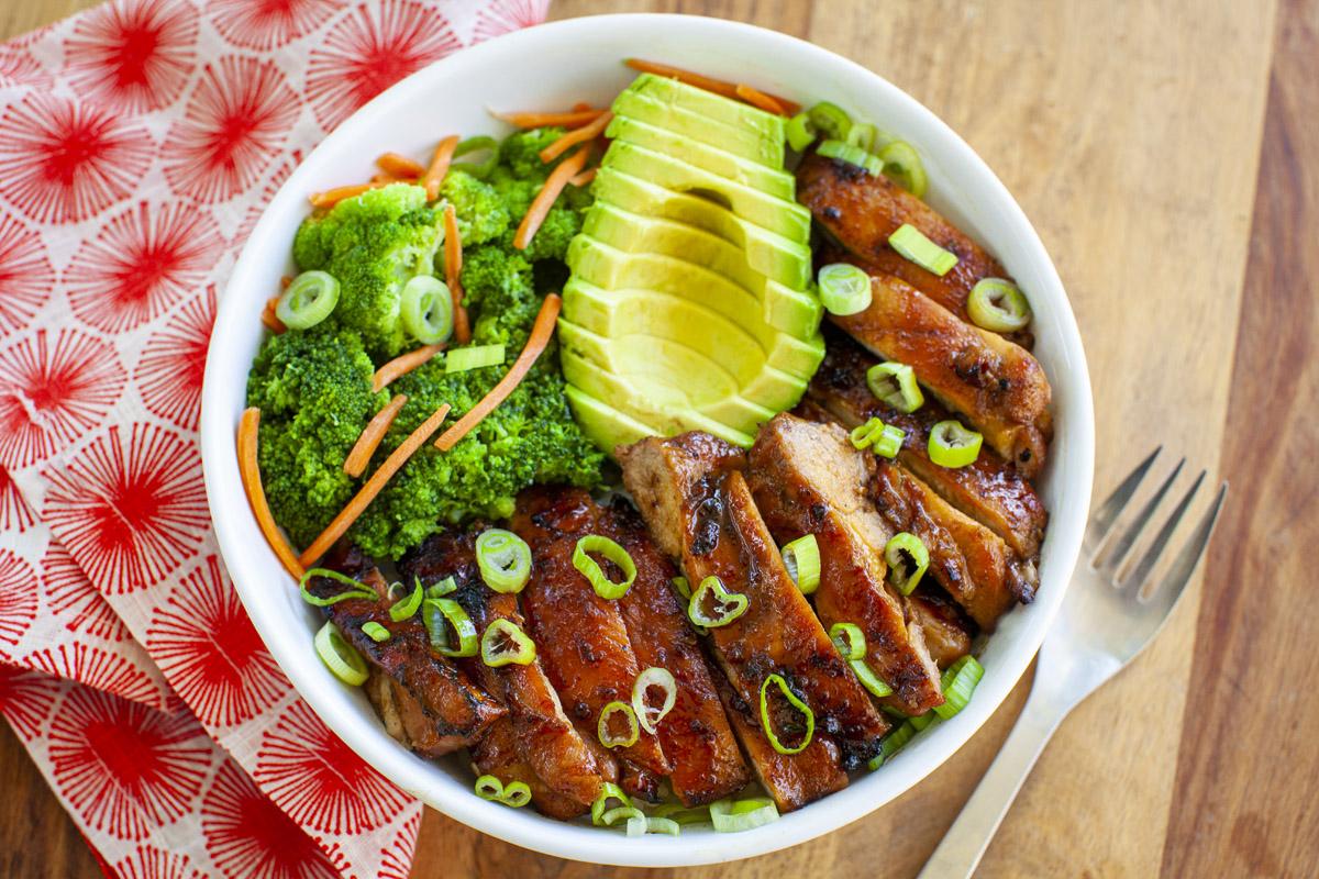 Trader Joe's Teriyaki Chicken Bowl Recipe