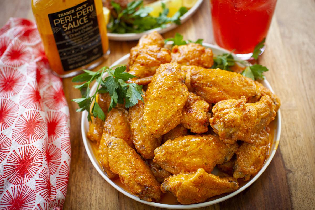 Air Fryer Peri Peri Sauce Chicken Wings Recipe