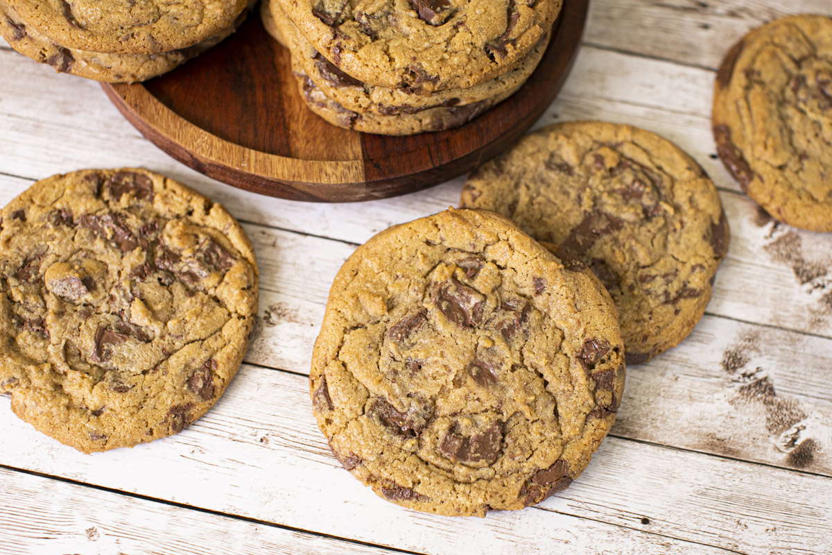 Jacques Torres' BEST Chocolate Chip Cookies Recipe
