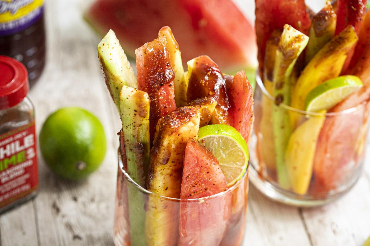 Mexican Fruit Cups Recipe (vasos de fruta)
