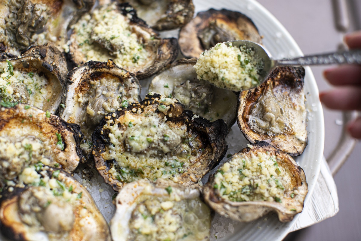 New Orleans Drago's Grilled Oysters Recipe